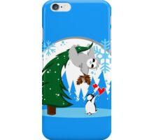 Sloth and Friend Holiday iPhone Case/Skin