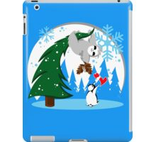 Sloth and Friend Holiday iPad Case/Skin