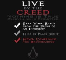 Live by the Creed by ftskim