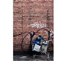 Someone's Trolley Photographic Print