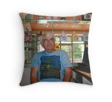 Chip, the duck.  Throw Pillow