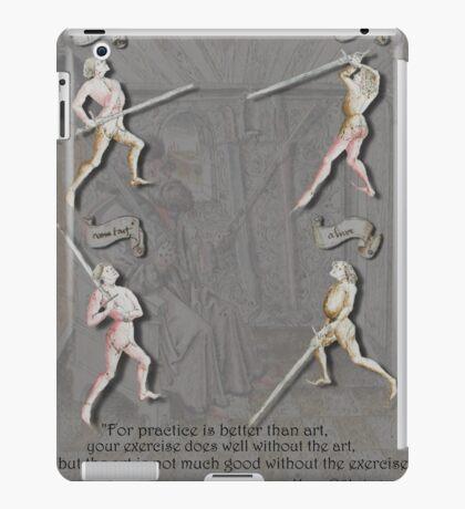 Liechtenauer Guards from Von Danzig Poster iPad Case/Skin