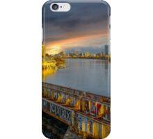 Graffiti bridge. iPhone Case/Skin