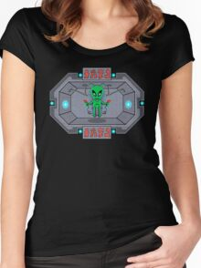 The Human Controller Women's Fitted Scoop T-Shirt