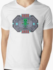 The Human Controller Mens V-Neck T-Shirt
