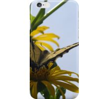Hung up on yellow iPhone Case/Skin