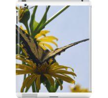 Hung up on yellow iPad Case/Skin