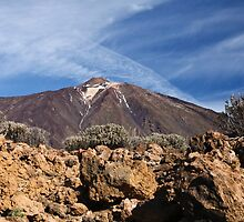 Teide the Volcano by Dawn Crouse