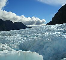 Franz Josef Glacier, New Zealand by plosker