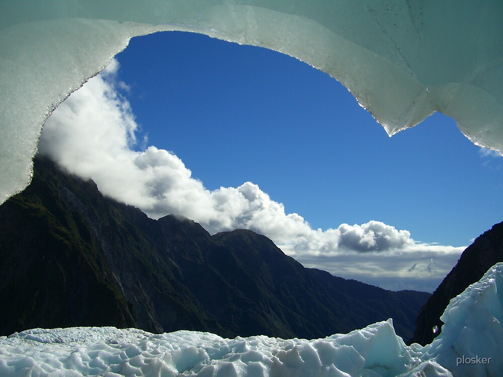 Franz Josef Glacier Cave, New Zealand by plosker