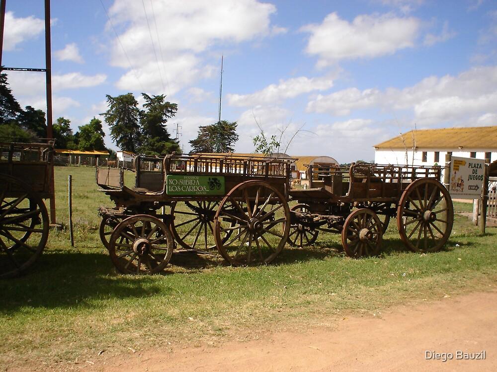 Forgotten wagon II . by Diego Bauzil