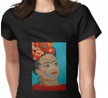 Shades of Frida Womens Fitted T-Shirt