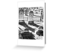 Oakwood Cemetary I Greeting Card