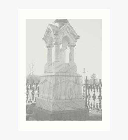 Oakwood Cemetary III Art Print