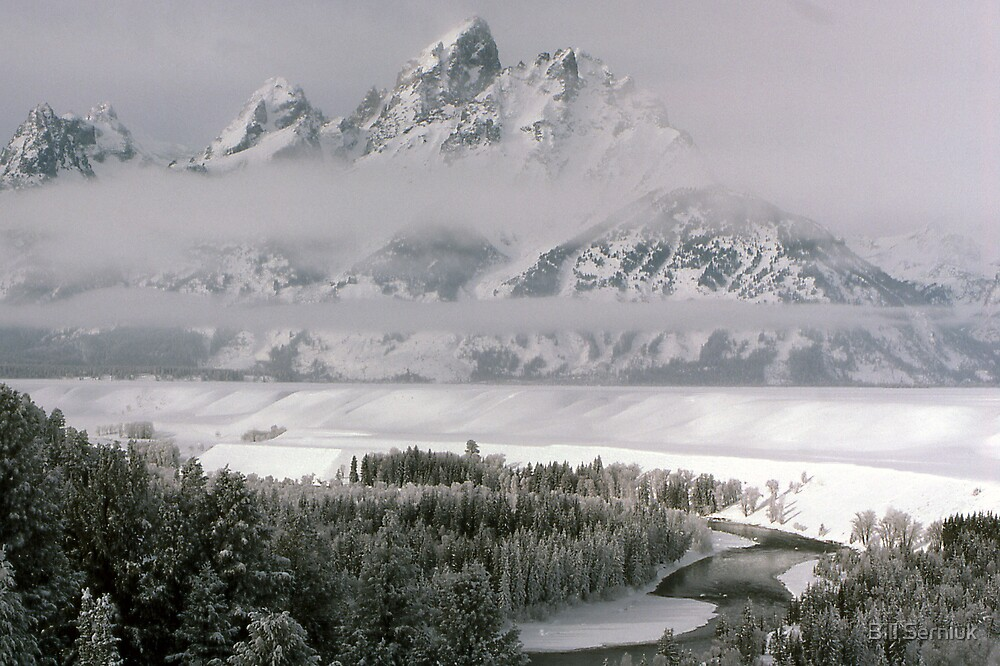 Tetons-Winter by Bill Serniuk