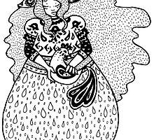 Fertility Goddess by sealskinstudios