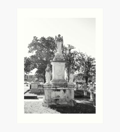 Oakwood Cemetary VII Art Print