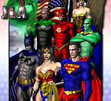 The JUSTICE LEAGUE by Theboy1der100