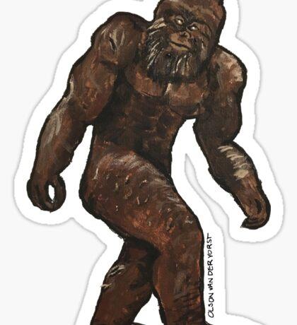 Bigfoot Painting Sticker