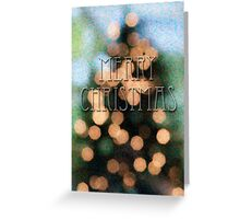 Impressionist Christmas Greeting Card