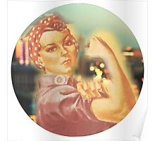 Rosie the Riveter Big City Poster