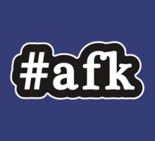 AFK - Hashtag - Black & White by graphix