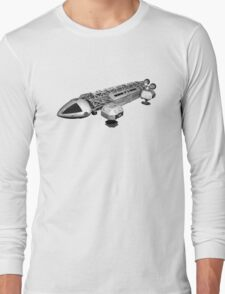 Space 1999 Eagle Transport Long Sleeve T-Shirt