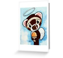 Orange Sherbert Greeting Card