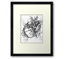 This Test Isn't - Pen Illustration Framed Print