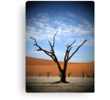 Cloud Tree Canvas Print
