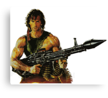 Rambo. Ready to order. Canvas Print