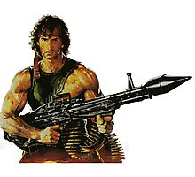 Rambo. Ready to order. Photographic Print