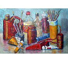 Bottles Brushes plus Photographic Print
