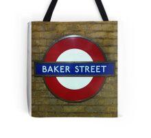 Baker Street, London Tube Sign Tote Bag