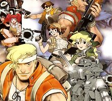 Metal Slug Reproduction Poster by Bryant Almonte Designs
