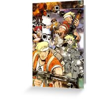 Metal Slug Reproduction Poster Greeting Card