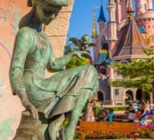 Cinderella Fountain at Disneyland Paris Sticker