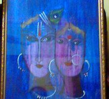 Radha-Krishna by somamandal1