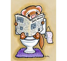 Potty Painting - Reading by Shelly  Mundel