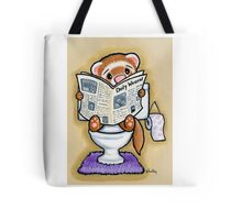 Potty Painting - Reading Tote Bag