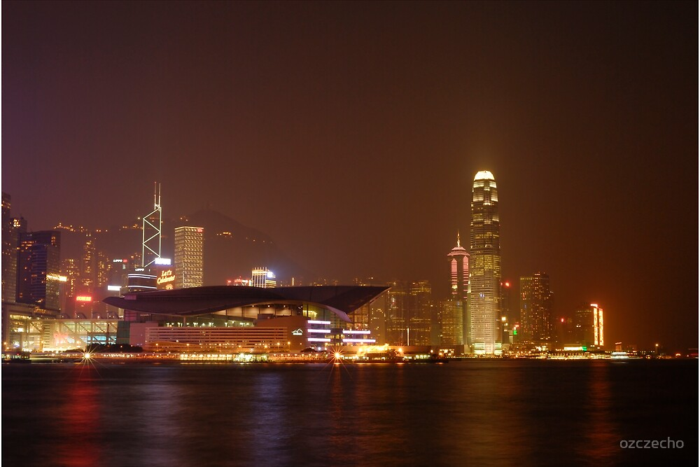 Hong Kong Island by ozczecho