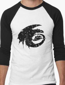 Toothless Silhouette Tee  Men's Baseball ¾ T-Shirt