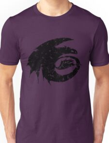 Toothless Silhouette Tee  Unisex T-Shirt