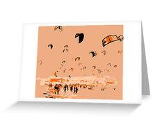 Kite Surfing Tarifa Greeting Card