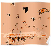 Kite Surfing Tarifa Poster