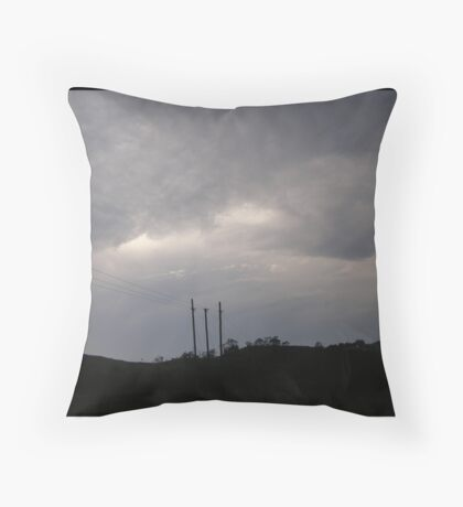 Perpetual Blue Throw Pillow
