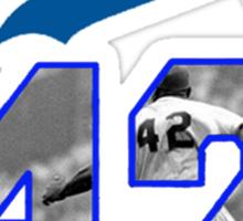 Jackie Robinson 42 Sticker