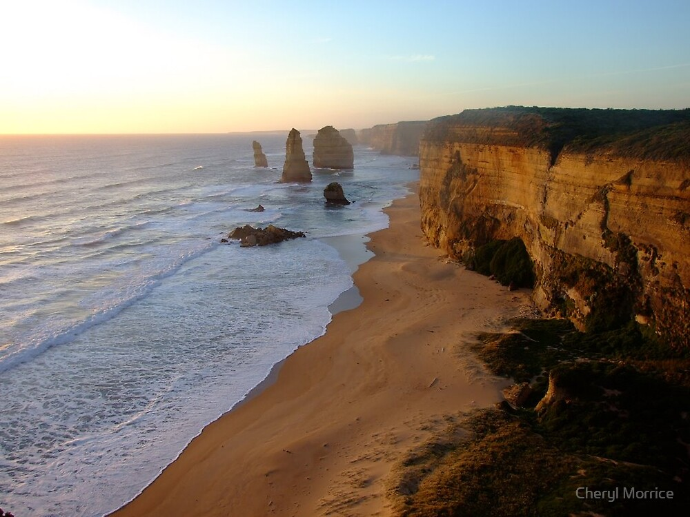 great ocean road, Victoria by Cheryl Morrice
