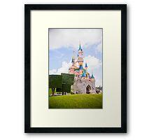 Le Château de la Belle au Bois Dormant Framed Print