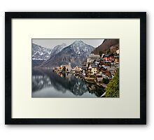 Fading Reflections Framed Print